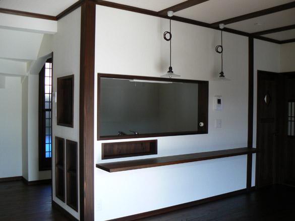 青梅市日向和田 キッチン ダイニング カウンター