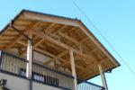 あきる野市:大きなバルコニーの家