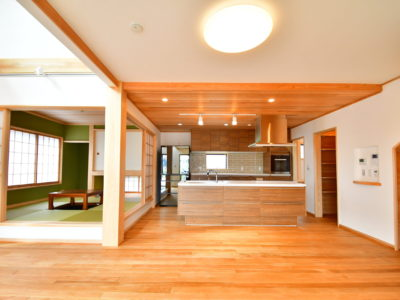 あきる野市雨間:自然素材・無垢の木×ゼロエネルギー住宅