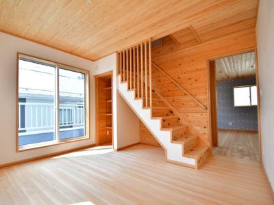 立川市西砂町:パパの秘密基地がある無垢の高性能住宅